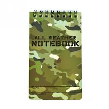 All weather notebook!
