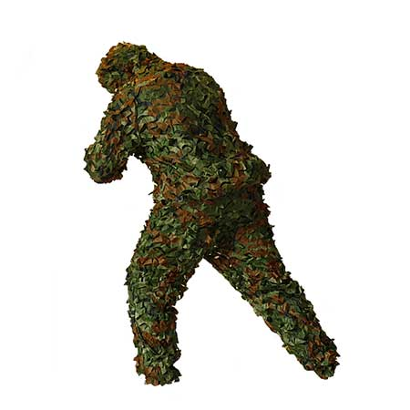 Camouflage Ghillie Suit-Leafy Pattern