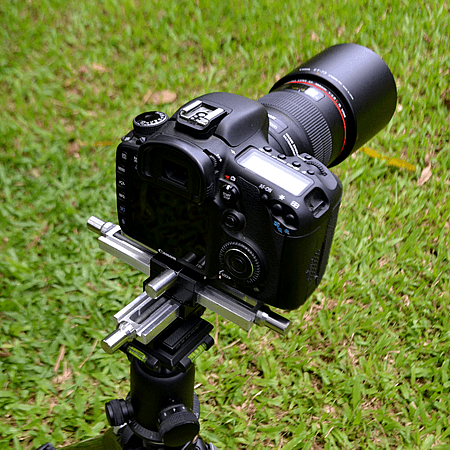Macro Focusing Rails mounted for shoot