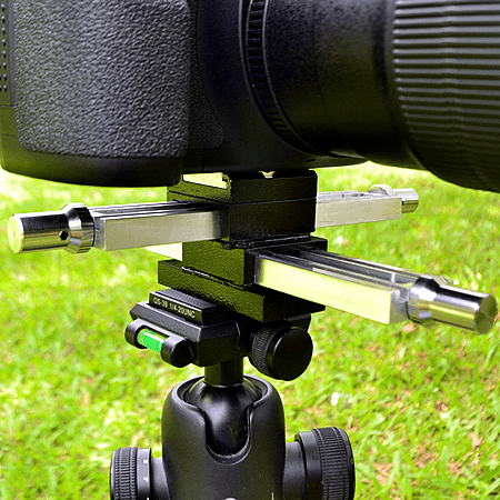 Macro Focusing Rails on Tripod head