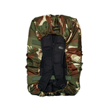 Waterproof bag cover - Camouflage - 40L - Back view