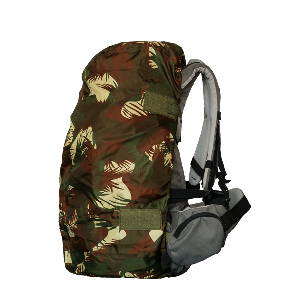 Waterproof bag cover - Camouflage - 60L - Left view