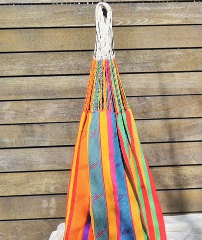 HANDWOVEN COLOMBIAN HAMMOCK - Multicolour
