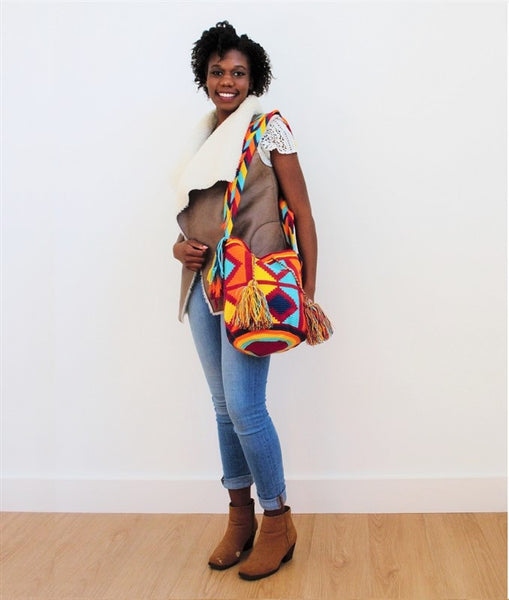 wayuu mochila colourful