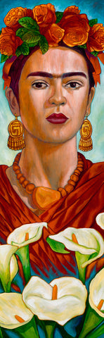 "'Frida entre Alcatraces' ... 16""x51"""
