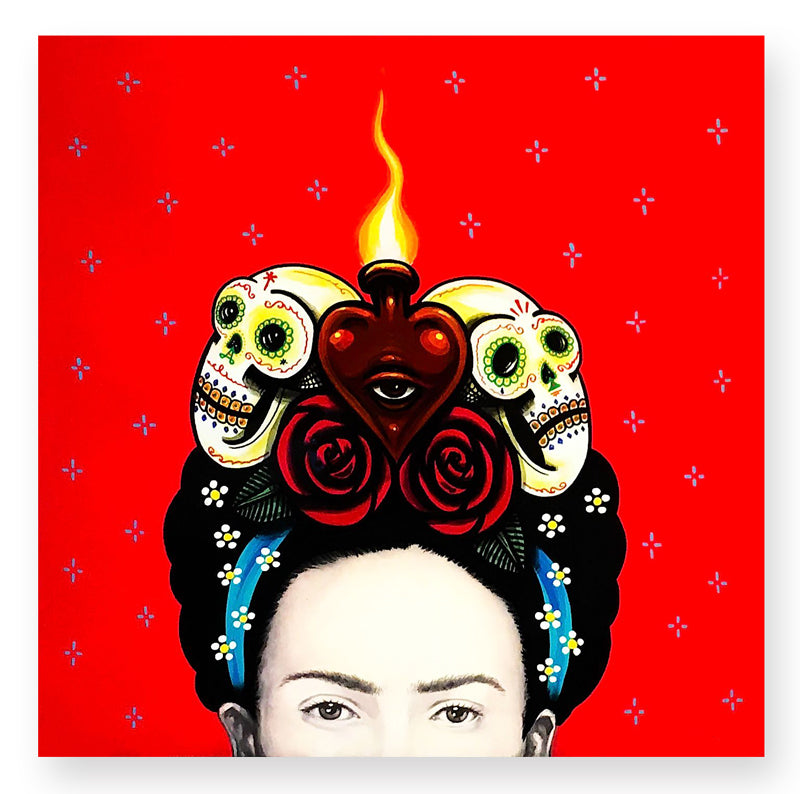 'Mirame Frida con Muertitos'