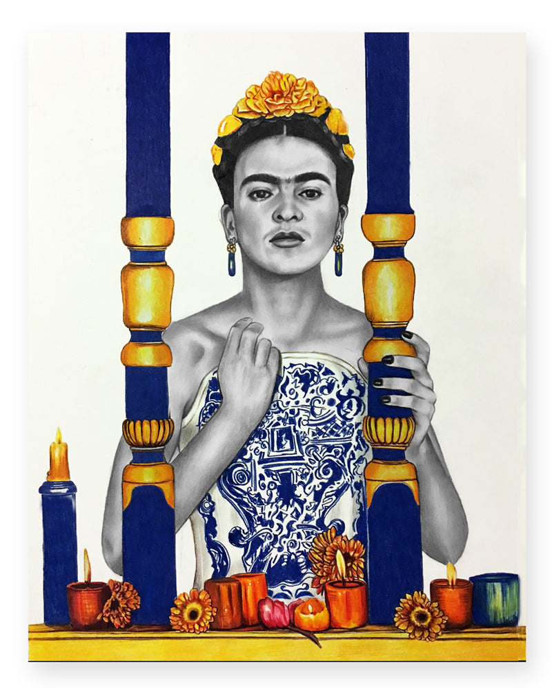 'I Feel Your Pain Frida' - (Print)