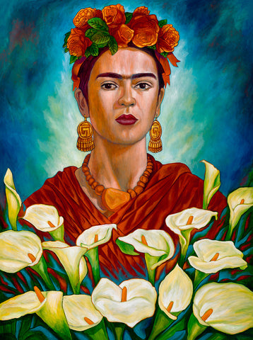 "'Frida entre Alcatraces' ... 8""x11"""