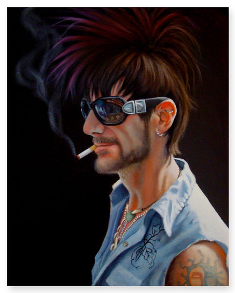 'Fauxhawk and a Cigarette'