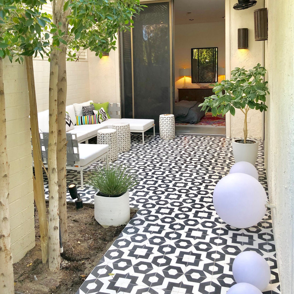 Kaidan Erwin Patio - Tesselle Cement Tile