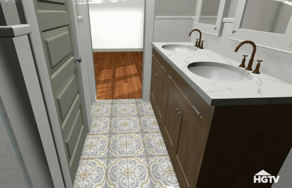 Cement Tile Rendering