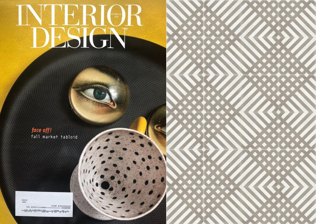 Interior Design Mag Features Platform Cement Tiles