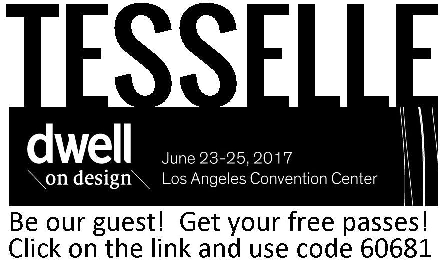 Free passes to Dwell on Design