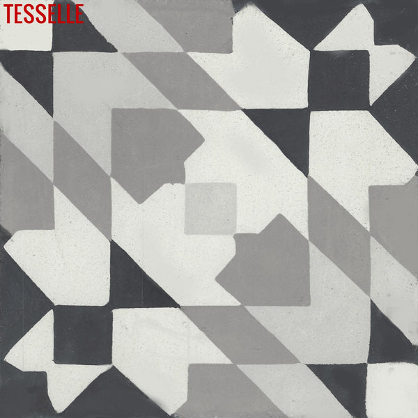 Andalusia Night 8 Quot Square Cement Tile Tesselle