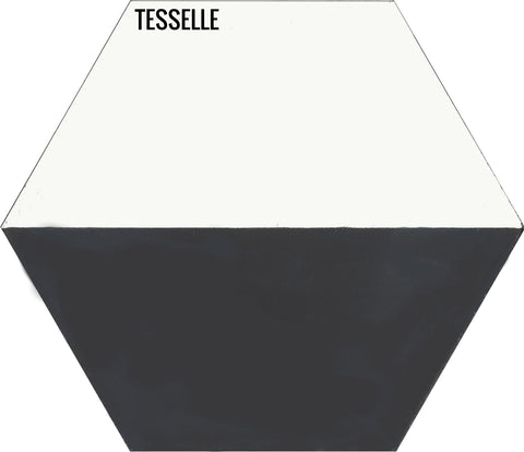 "Casselli Ponte 8"" Square Cement Tile"