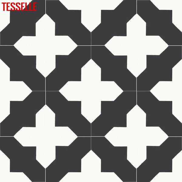 "Catania Mercado 8"" Square Cement Tile 5"