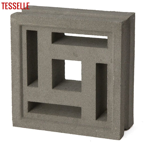 "Complex Natural Cement 7.5"" Breeze Block 