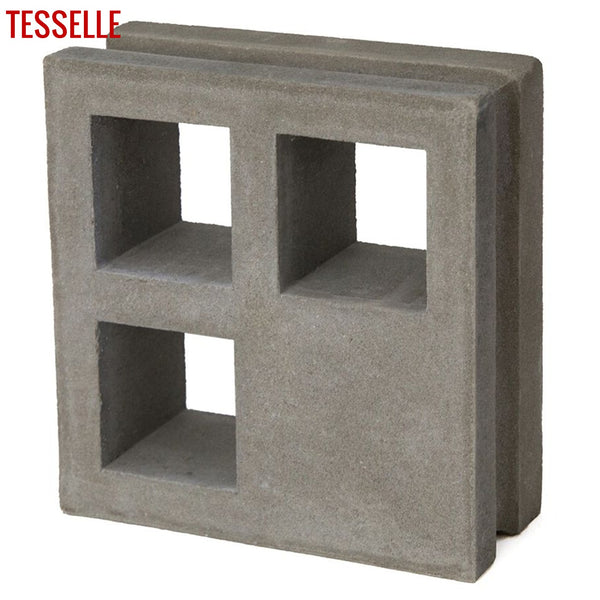 "Concourse Natural Cement 7.5"" Breeze Block 