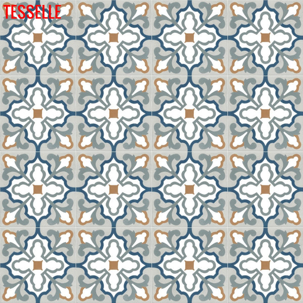 "Covington Sylvan 8"" Square Cement Tile"
