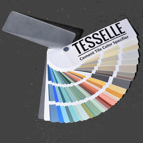 Cement Tile Color Specifier - Deck Contains Over 100 Colors