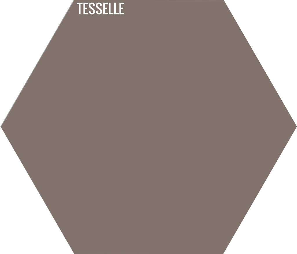 "Grain 6012 - 9""x8"" Hexagonal Cement Tile"