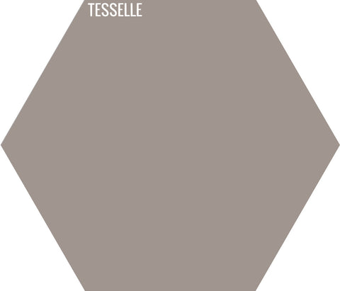 "Sandstone 6012 - 9""x8"" Hexagonal Cement Tile"
