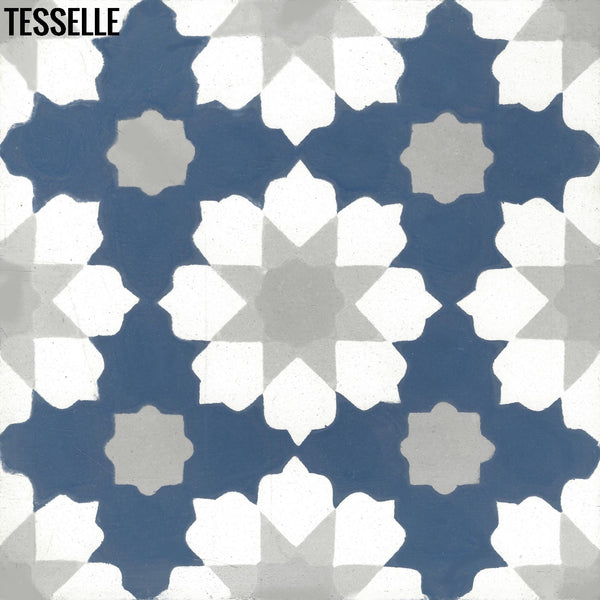 "Helena Andros 8"" Square Cement Tile"