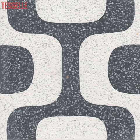 "Ipanema Campos 8"" Square Cement Tile"