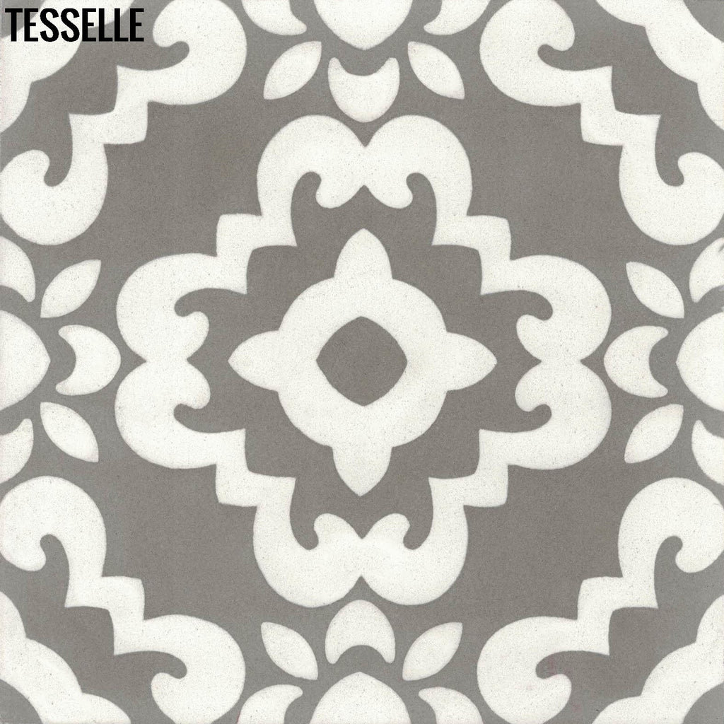 Kalikoe 8 Square Cement Tile Valle Tesselle