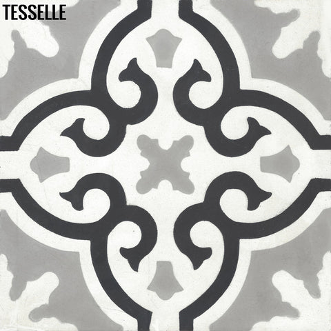 "Products Linares La Santana8"" Square Cement Tile"