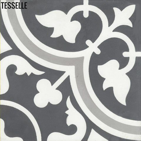 "Avignon Rive 8"" Square Cement Tile"