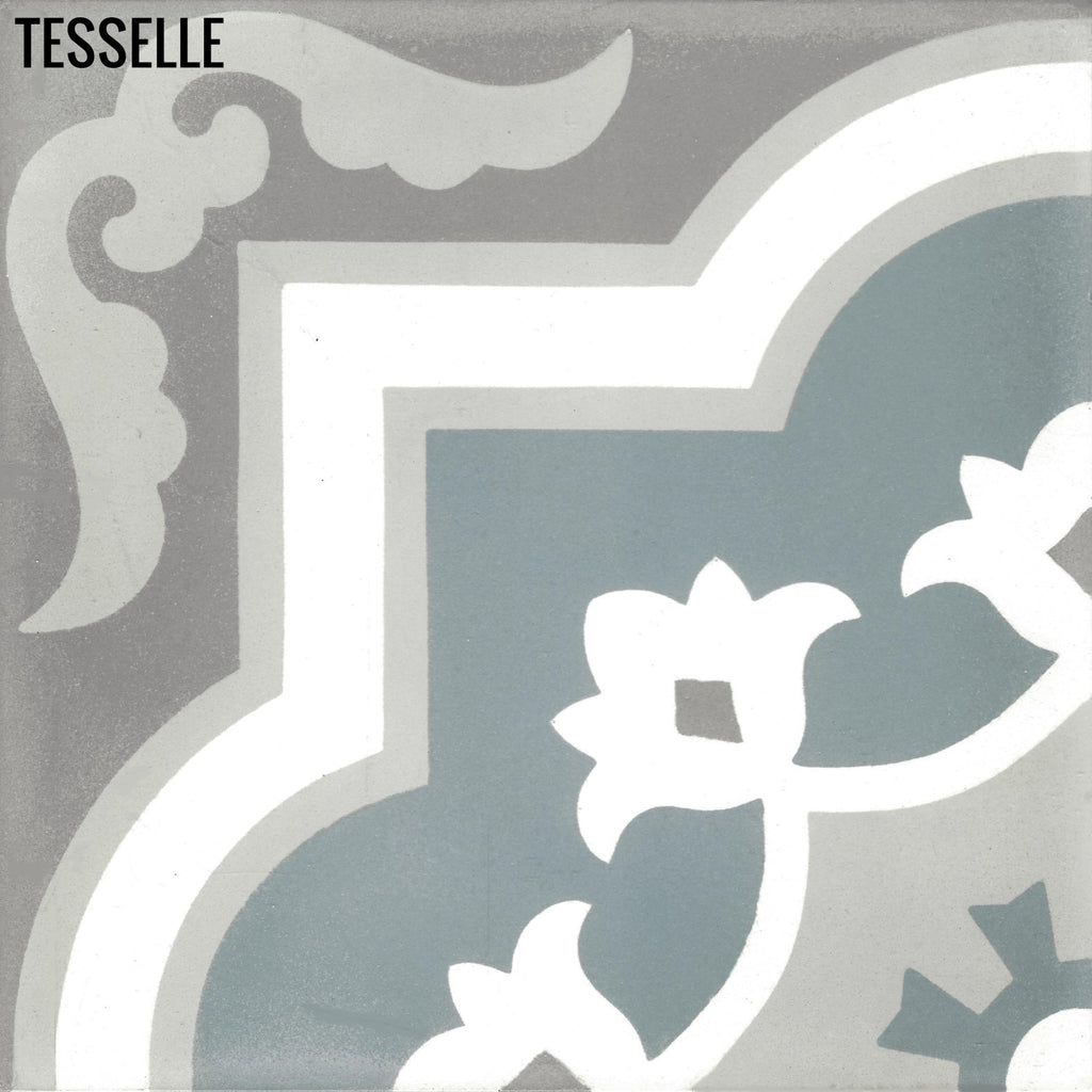"Marbella Muro 8"" Square Cement Tile"