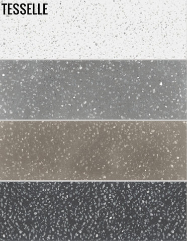 Metro Terrazzo Cement Subway Tile - 4 Color Sample Pack, $9.99