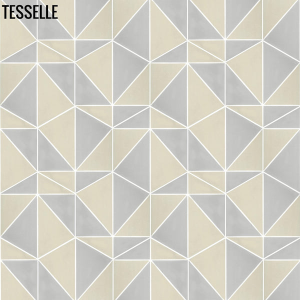 "Pinnacle Summit 9x8"" Hexagonal Cement Tile b"