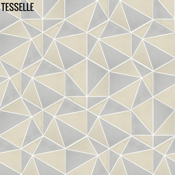 "Pinnacle Summit 9x8"" Hexagonal Cement Tile a"