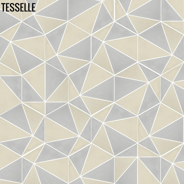 "Pinnacle Summit 9x8"" Hexagonal Cement Tile e"
