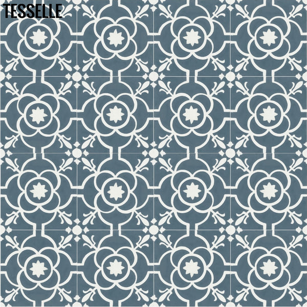 "Provence Calade 8"" Square Cement Tile 1"