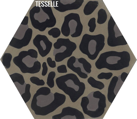 Safari Hexagonal Cement Tile - Jasper