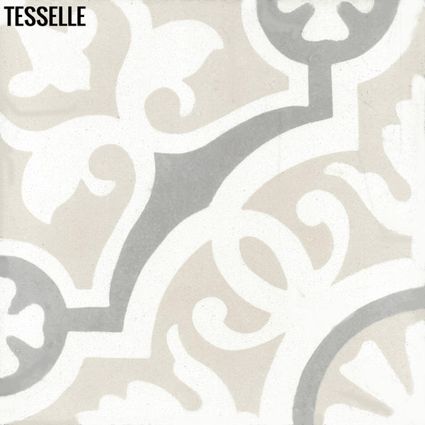 "Sevilla Lucena 8"" Square Cement Tile"