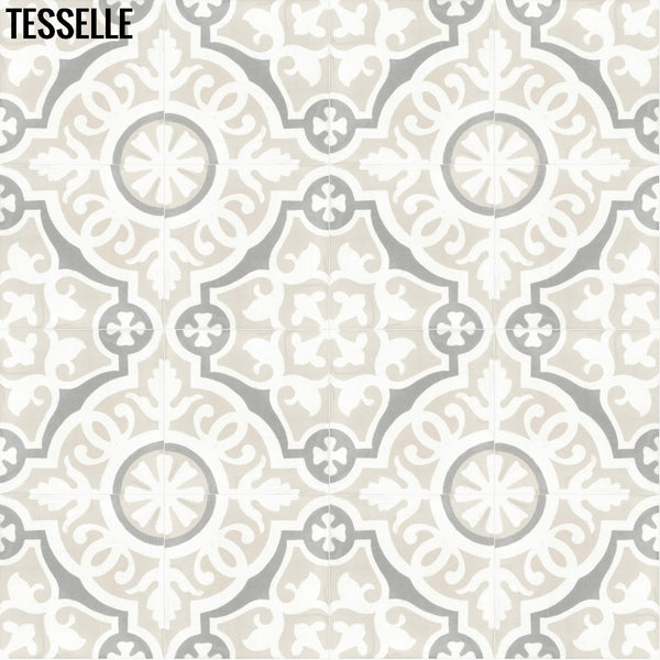 "Sevilla Lucena 8"" Square Cement Tile 1"