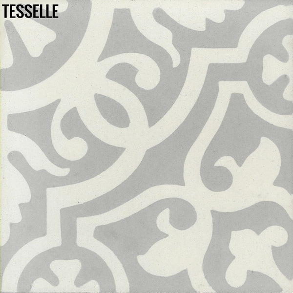 "Sevilla Niebla 8"" Square Cement Tile"