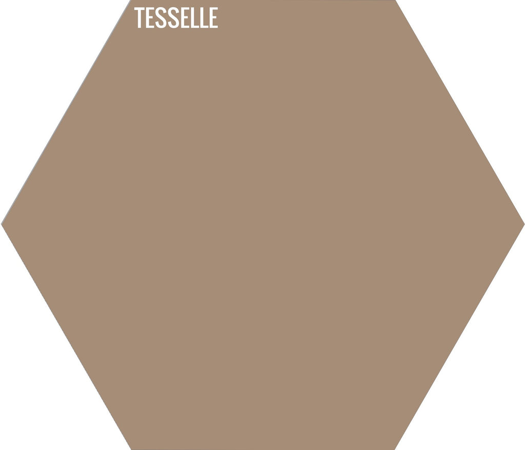 "Shell 7008 - 9""x8"" Hexagonal Cement Tile"