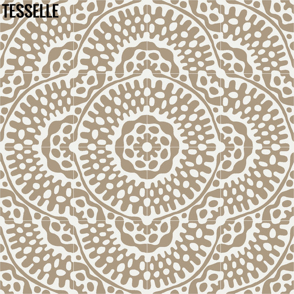 "Sonora Sola 8"" Square Cement Tile 