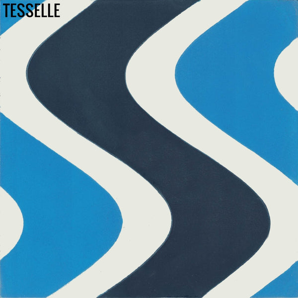 "Surfside 8""x8"" Square Cement Tile - Isle"