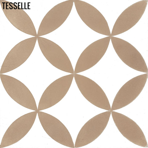 "Tropez Sandbar 8"" Square Cement Tile"