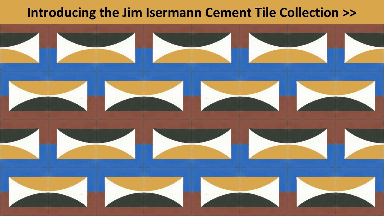 Jim Isermann Cement Tiles