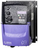 Pool Power Saver IP66 - 10.5A 200~240V 1ph to 1ph - AC Inverter Drive Speed Controller with Potentiometer and PowerSave/Off/BackWash switch