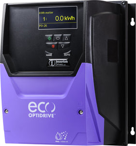 ECO IP66 7.5kW, 3Ph. Input, 3Ph. Output, 380-480V, EMC Filter, OLED Display