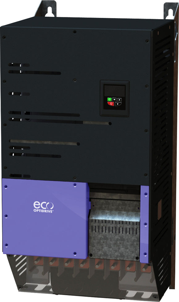 ECO IP20 250kW, 3Ph. Input, 3Ph. Output, 380-480V, EMC Filter, OLED Display