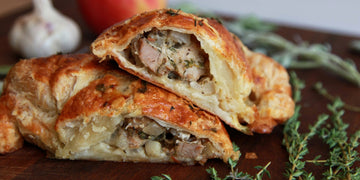 Roasted Garlic & Herb Pasty